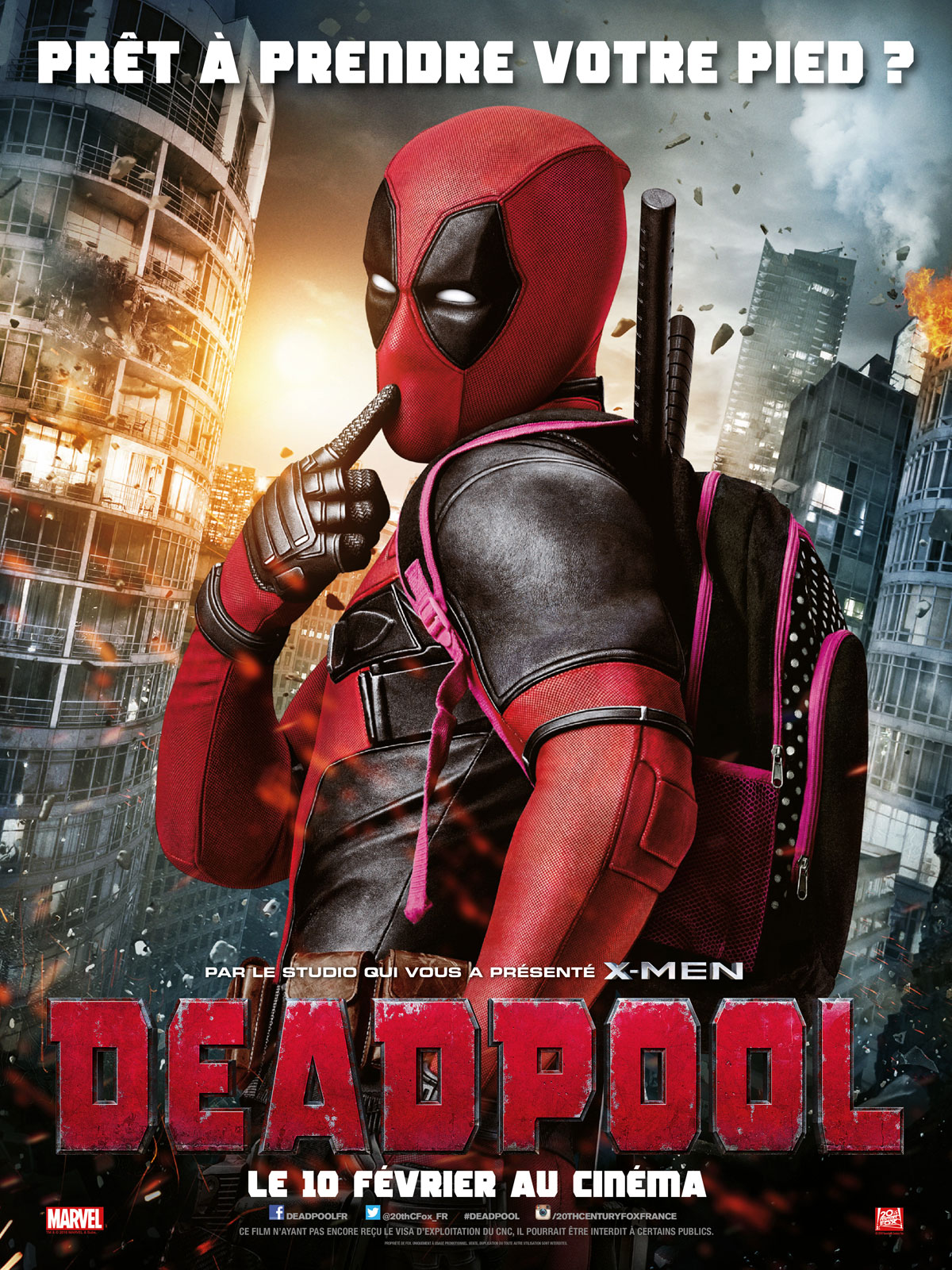 affichedeadpool
