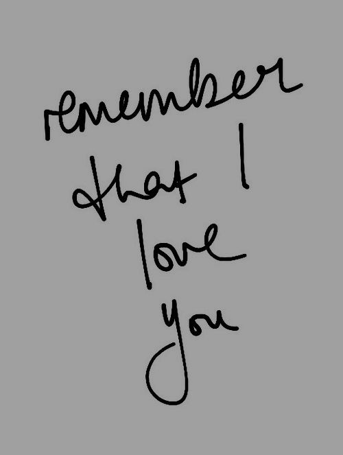 rememberthatiloveyou
